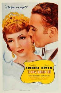 """Tovarich (Warner Brothers, 1937). One Sheet (27"""" X 41"""")"""