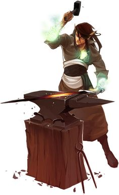 Magic blacksmith