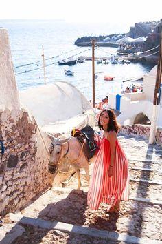 A Guide to Santorini - Fira & Oia   The Tia Fox