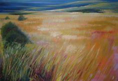 Summer Field, 80cm * 100cm, SOLD Sandra Hammer