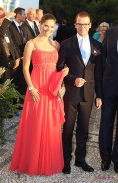 Victoria y Daniel, los Principes herederos de Suecia
