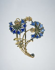 Broche van goud, anoniem, ca. 1900 - ca. Lalique Jewelry, Art Deco, Famous Art, Gold Brooches, Art Nouveau Jewelry, Etsy Vintage, Art Google, Charm Jewelry, Jewerly