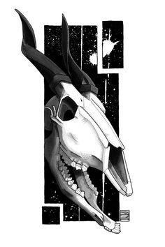 "Limited edition (10) token of Skeenee´s ""Bongo Skull, by Skeenee"" available on www.makersplace.com. #cryptoArt #skeenee #cryptoartist #skull #skullart Sumi Ink, Anatomy Drawing, Ink Painting, Skull Art, Blockchain, Renaissance, Digital Art, My Arts"