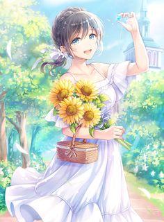 Pin de toy en animestuffs anime, kawaii anime girl y beautif Pretty Anime Girl, Beautiful Anime Girl, I Love Anime, Girls Anime, Kawaii Anime Girl, Anime Art Girl, Anime Girl Crying, Anime Girl Dress, Anime Chibi