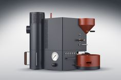 Here's a design aesthetic I haven't seen in a while! This coffee roasting…
