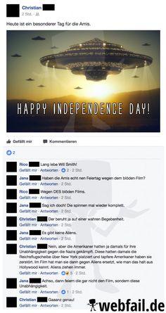 Der Independence Day sorgt immer wieder für Verwirrungen.