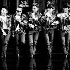 Bigbang with milkshakes........ You know what song I'm thinking of xD