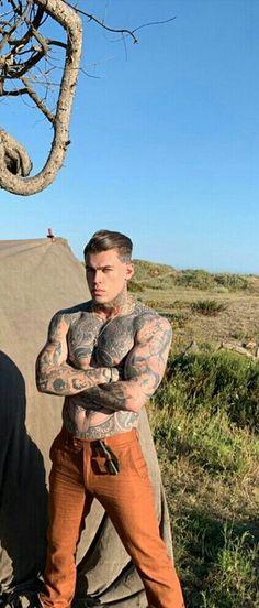 Hottest Guy Ever, Hottest Guys, Cute Guys, Sweet Guys, Stephen James Model, Sexy Tattooed Men, Sexy Men, Hot Men, Inked Men