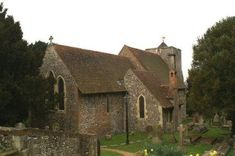 St Martin's Church, Canterbury. The oldest church in England since before 597AD and still in use