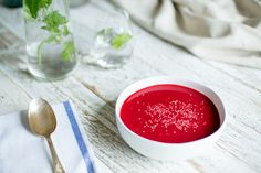 Beetroot and Ginger Soup