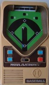 Mattel Baseball Handheld Game was released in 1979. It featured... 1- or 2-player option a score key that gave inning, outs, balls, stri...