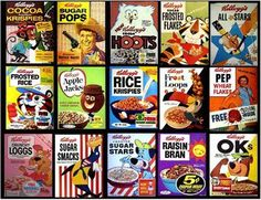 .....cereal..when it was fun
