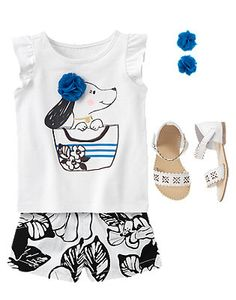 Toddler Girl's Posh Pooch Outfit by Gymboree
