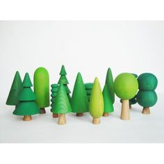 Woodworking For Kids Made To Order Woodland Tree Set pcs) Wooden Tree figurines Toys for kids Learning toys Nature table Montessori toddler Kids Learning Toys, Kids Toys, Baby Toys, Toddler Toys, Baby Baby, Baby Girls, Design Set, Woodworking For Kids, Woodworking Projects