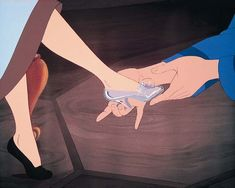 Cinderella is proof that one shoe CAN change your life!