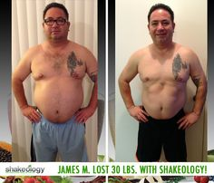 James M. lost 30 lbs