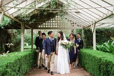 Saran & Toby - real wedding, couple, love, wedding photography, Sydney wedding photographer, wedding picture inspiration, bridal party, flowers, bouquet, suits and tie