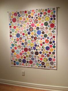 Paperweights Quilt Pattern Modern Scrap Quilt by KarenGriskaQuilts