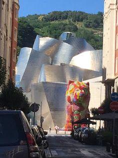 Aterrizando: Bilbao, en un día típico de verano español