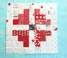 """""""Carousel"""" block designed by Debbie Taylor from the Simply Fat Quarters book."""