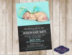 Pack of 25 Baptism Personalised Photo Girls Christening Naming Day Invitation Cards C001