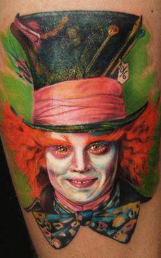 Tattoo Artist - Billi Murran - www.worldtattoogallery.com/movies_tattoo