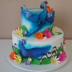 #rio2 pra linda Lara! #vivicostaatelier #instacake #cakedesigner #cakeinstagram #bolodemenina Rio Cake, Rio 2, Birthday Parties, Birthday Cake, Baby Things, Costa, Cakes, Instagram Posts, Party