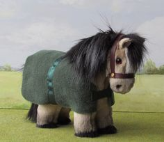 Paddy A Dun Shetland Pony Patrick S Day And He Has Green Rug Specially For The Occasion
