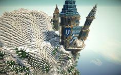 minecraft castle