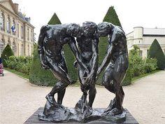Rodin, The Three Shades