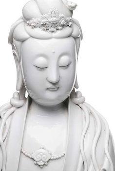 Guanyin face - Dehua porcelain