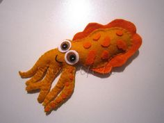Felt squid via flikr