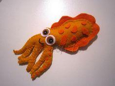 Felt squid via flikr