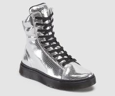 I want these -- Dr Martens Canada   MIX - NEW ARRIVALS - SILVER - MINI METALLIC SNAKE - R15319040