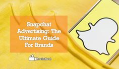 Snapchat Advertising: The Ultimate Guide for Brands. Snapchat is one of the top most social media apps to make communication through videos. Video Advertising, Marketing And Advertising, Snapchat Video, Seo News, Social Media Apps, Communication, Videos, Youtube, Top