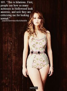 6 Reasons Why Jennifer Lawrence's Diet Is The Best (Photos)