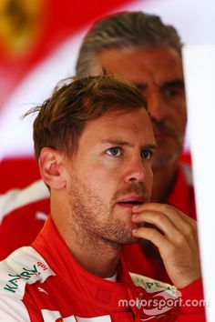 Sebastian Vettel, Ferrari, FP1 gearbox troubles didn't transfer over into FP1 as Seb topped the time sheet in FP2
