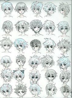 anime jungs frisuren
