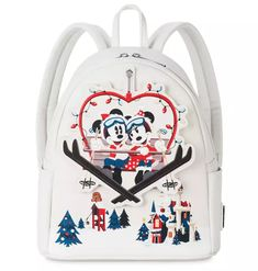 Mickey and Minnie Take On The Slopes On The New Holiday Backpack! - bags -