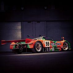 our 1992 #LeMans-winning #Mazda #787B