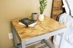 DIY Chevron End Table - Imgur