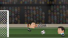 Kafa Topu Dünya Kupası oyununda 2014 Dünya Kupası takımlarından birini seçip maçlar oynuyorsunuz. Oyunu turnuva şekilde oynayabileceğiniz gibi 2 kişilik maçlar şeklinde de oynayabiliyorsunuz. Güzel bir futbol oyunu olan Kafa topu maçlarını kazan ve dünya şampiyonu ol.  http://www.oyuntr.net/kafa-topu-oyunlari