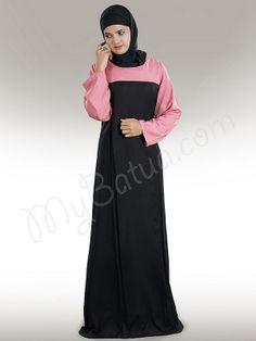 Eliza Abaya !   Style No: Ay-196   Shopping Link : http://www.mybatua.com/eliza-abaya   Available Sizes XS to 7XL (size chart: http://www.mybatua.com/size-chart/#ABAYA/JILBAB)