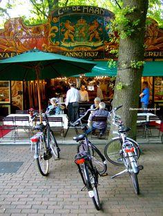 Poffertjeskraam, Laren, Noord-Holland.