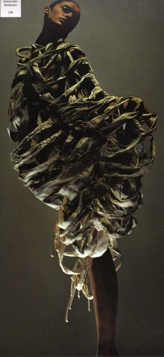 """Alexander McQueen, curate by Hamish Morrow  from  """"Sample- 100 Fashion Designers, 010 Curators"""""""