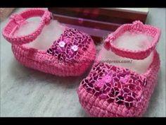 Sapatilhas Croche - Professora Simone