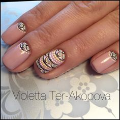 Having short nails is extremely practical. The problem is so many nail art and manicure designs that you'll find online Perfect Nails, Gorgeous Nails, Pretty Nails, Frensh Nails, Hot Nails, Nagel Hacks, Dot Nail Art, Nail Art Dotting Tool, Manicure E Pedicure