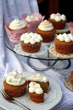 Muffin mascarponekrémmel