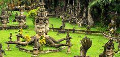 Découvrez le Parc du Bouddha, au Laos. - MétéoCity
