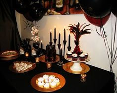 Yum. A very cool vamp party banquet.